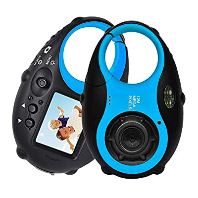 ISHARE Kids Camera Cute Camera 12MP Digital Camera with Video for Girls and Boys(Kids Camera with Photo Frame)… from Cocac