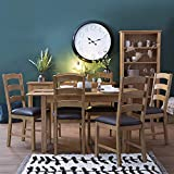 The Furniture Outlet London Oak Small Extending Dining Table (Table Only)