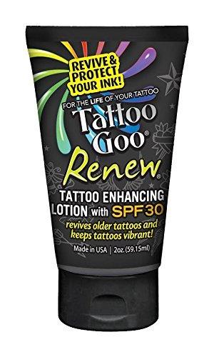 Tattoo Goo Renew Enhancing Lotion SPF 30