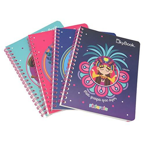cuaderno profesional de doble raya fabricante SKY BOOK