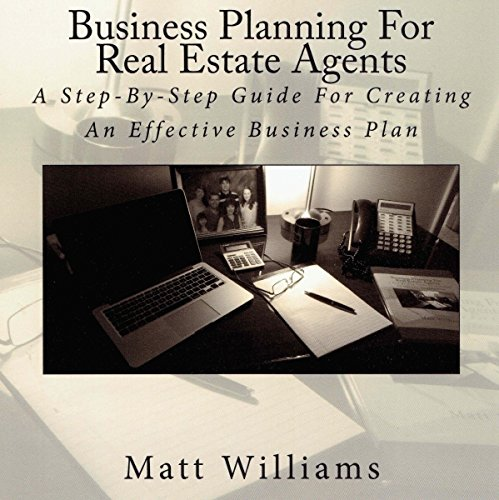 Business Planning for Real Estate Agents audiobook cover art