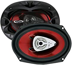 $37 » BOSS Audio Systems CH6940 Car Speakers - 500 Watts Of Power Per Pair And 250 Watts Each, 6 x 9 Inch , Full Range, 4 Way, S...