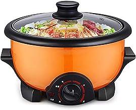 DYXYH Mini multifonctions électrique Hot Pot de Split Étudiant Dortoir électrique Marmite Ménage de cuisson Wok d'une seul...