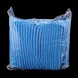 Waymeduo Krankenschwestern Krankenhaus Labors 100 Stück Einweg-Vlieskappen - Atmungsaktives Leichtgewicht dehnbarer Anti-Staub-Hut Medizinische Haarabdeckung Haarnetz-Füllkappen für ärzte