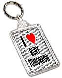 Photo de Porte-clés I Love Bury Tomorrow - Cadeau - Anniversaire - Noël - Garnissage chaussette par