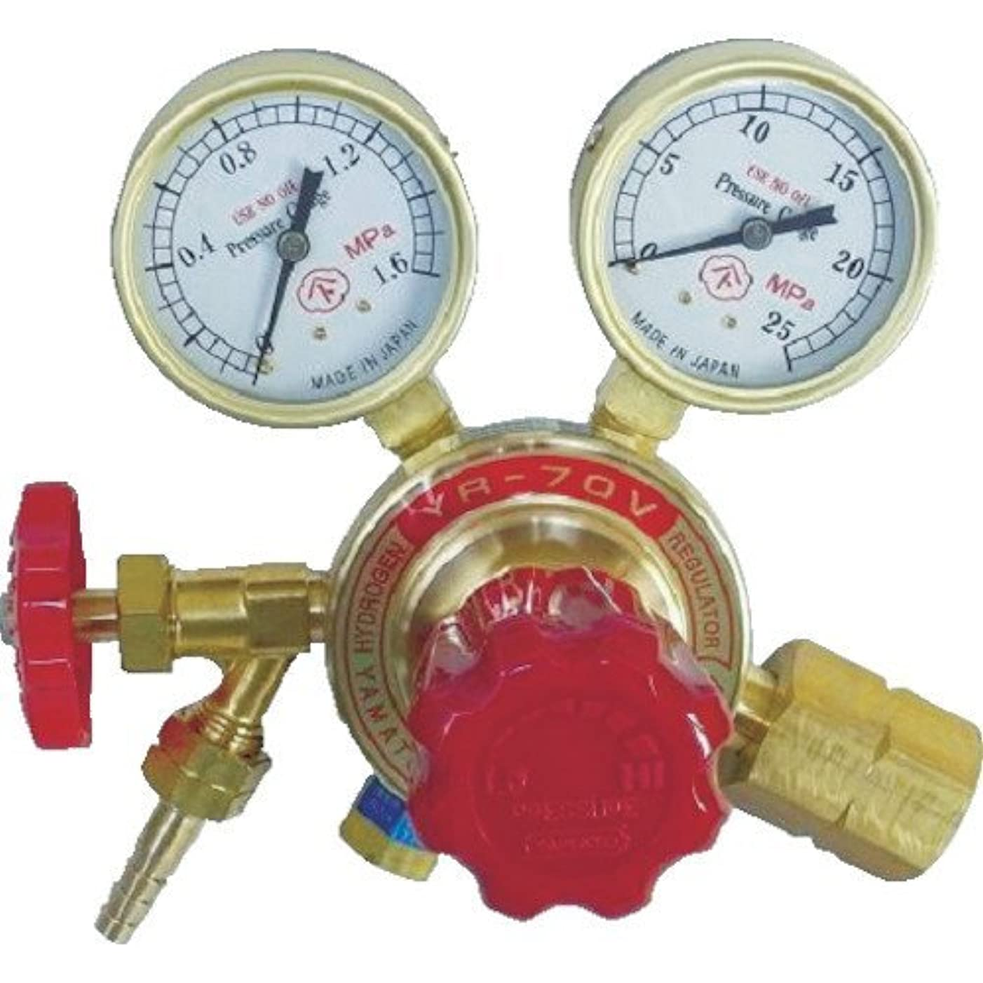 ガス最大化するテント水素用圧力調整器 YR-70V YR70V2212HG03