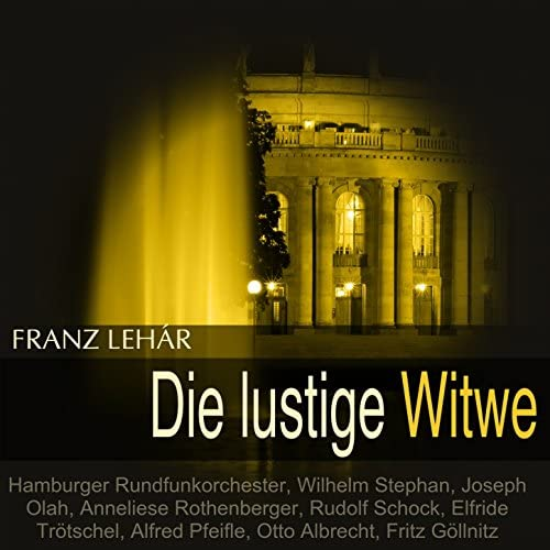 Hamburger Rundfunkorchester, Wilhelm Stephan, Joseph Olah, Anneliese Rothenberger