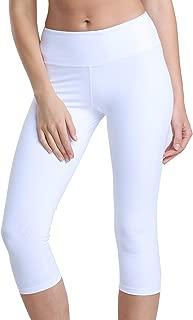 Yoga Pant Tummy Control Running Capris Stretch Workout Leggings