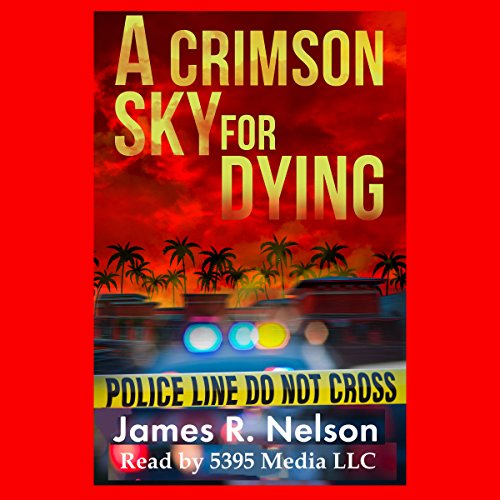 A Crimson Sky for Dying audiobook cover art