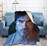 Ian-Somerhalder Blanket All Season Super Soft Warm and Comfortable Bed Sofa Blanket 50x40 inch