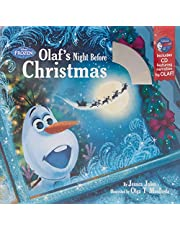 Olaf's Night Before Christmas: Book & CD (Disney Frozen)