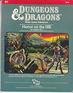 Horror on the Hill (Dungeons & Dragons Module B5)