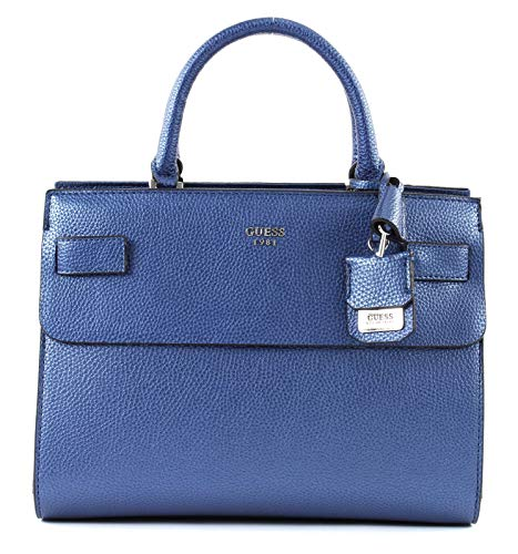 Guess Cate Satchel Navy
