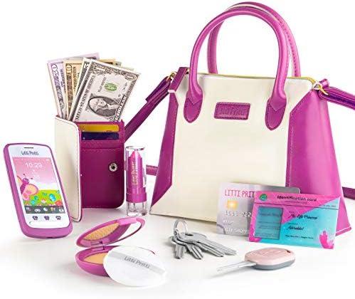 Litti Pritti Princess Toys Little Girls Purses Pretend Play My First Purse Set Fashionably Stylish product image