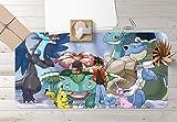 AJ Wallaper 3D Schreibtischunterlage für Pokemon Pikachu 249 Japan Anime Anti-Rutsch Büro Schreibtisch Mauspad Spiel UK Sonntag, W90cmxH40cm(35'x18')