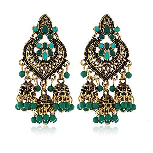 Damen Bohemian Ohrringe,Mode Ohrringe Ohrstecker Set für Frauen,Baumeln Ohrring Zubehör Schmuck für Frauen Mädchen