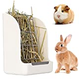 Comedero para Conejo, Alimentador de Heno, Alimentador de heno para Conejo, Comedero Heno para Mascotas, para Cobayas, Chinchillas, Hámsters, Conejos, Animales Pequeños