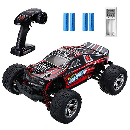 EACHINE EC09 Coche de Control Remoto para Adultos, RC Car de Alta Velocidad 1: 20 Escala 35+ mph 4WD Off Road Monster Trucks, 2 baterías Recargables 40 Minutos