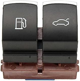 35D 959 903 Fuel Tank Door Switch Button Trunk Release Switch Button With Chrome Decoration For Passat B6 Tiguan MK6 35D959903