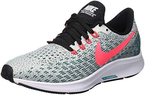 Nike Free Run 2, Scarpe da Corsa Uomo, Grigio (Barely Grey/Hot Punch-geode Teal-Black), 41 EU