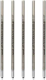 (ユニ) Uni SXR-200-07 ジェットストリーム プライム ハイグレード 多機能ボールペン 替芯 0.7 mm ブラック 5セット