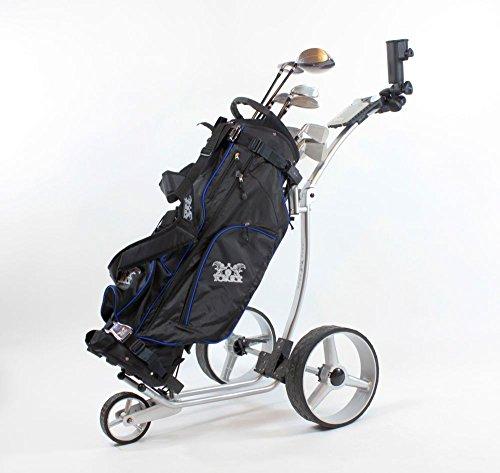 Yorrx® Slim Lion Pro 5 *PLUS* (ALU COOL) Golftrolley/Golfwagen/Golf Cart; AKTION: REGENSCHIRMHALTER GRATIS - 6