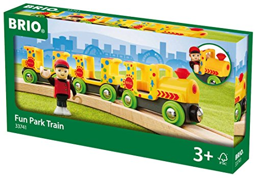 BRIO- Fun Park Train Juego Primera Edad, Multicolor (33741)