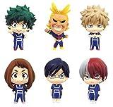 Yzoncd 6Pcs Anime My Hero Academy Figura Juguetes 5Cm, Himiko Midoriya Izuku Shouto Boku Katsuki Ura...