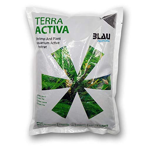 Blau Aquaristic 7740009 Terra Activa Brown Normal 2L