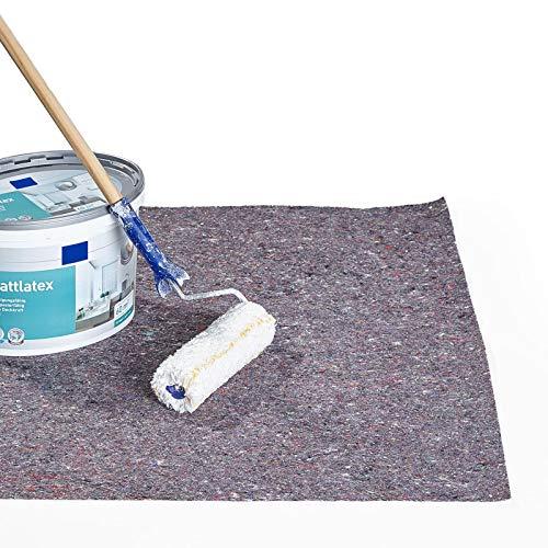 ESTEXO Malervlies mit rutschhemmender PE-Folie auf der Rückseite, Flächengewicht und Rollenlänge wählbar 280 g/m² 50 m²