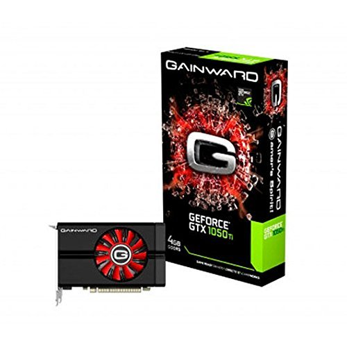 Gainward GeForce GTX 1050 426018336-3828 Grafikkarte 4GB (DDR5 128bit) schwarz