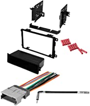 CACH� KIT909 Bundle with Car Stereo Installation Kit for 2003 � 2006 Chevrolet Silverado � in Dash Mounting Kit, Harness, Antenna for Single or Double Din Radio Receivers (4 Item)