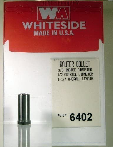 popular Whiteside Router Bits 6402 wholesale Steel Router lowest Collet with 3/8-Inch Inside Diameter and 1/2-Inch Outside Diameter outlet online sale