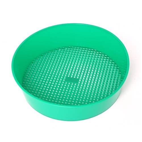 CADANIA Kunststoff-Gartensieb-Rätselgrün für Composy Soil Stone Mesh-Gartenwerkzeug