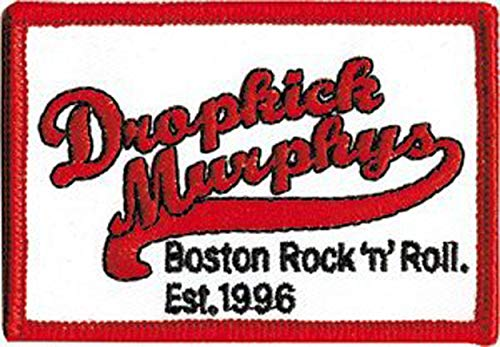 Dropkick Murphys - Baseball Logo - Iron on or Sew on Embroidered Patch by C&D Visionary
