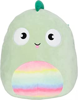 Squishmallows Official Kellytoy Kent The 11 Inch Chameleon Lizard Reptile Plush Squishy Soft Toy Animal