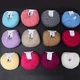 Suave con un crochet(1 set of twelve colors)