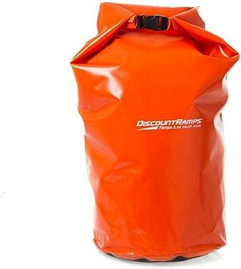 Rage Powersports DB-50 Orange 50 L Waterproof Float Dry Storage Boat Cargo Pack/Camping Bag