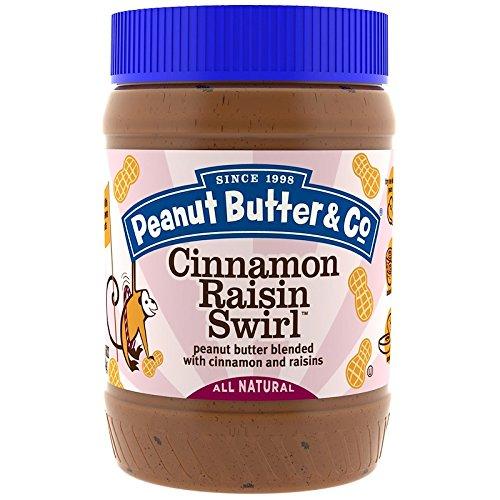 Peanut Butter & Co. - ピーナッツバター (ピーナッツバター&カンパニー) (シナモン 干しぶどう) [並行輸入品]