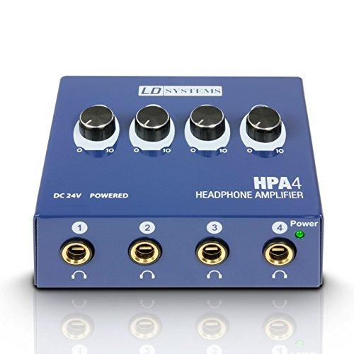 LD Systems LDHPA4 Kopfhörerverstärker (4 Kanal)