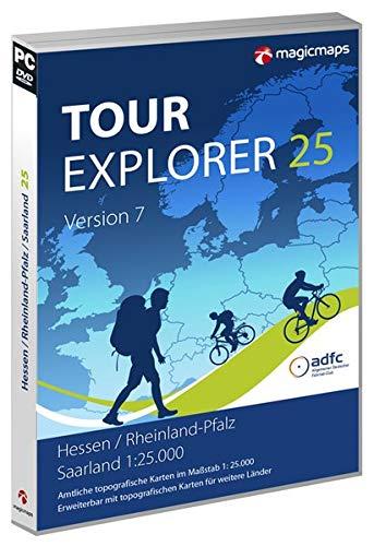 TOUR Explorer 25 Hessen/Rheinland-Pfalz/Saarland, Version 7.0