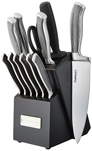 Cuisinart C77SS 13P 13 piezas Colección Graphix Bloque para juego de cuchillos, acero inoxidable