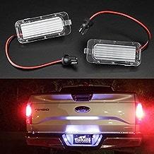 2 LED Canbus para Placa de Licencia Sin Error