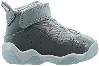 323420-015: Toddler's Cool Grey/White/Wolf Grey 6 Rings TD Sneakers