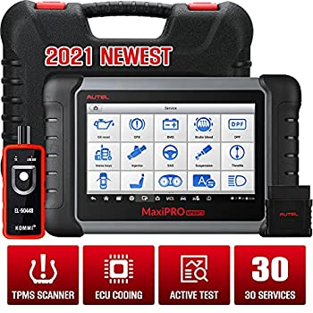 Autel MaxiPRO MP808TS Diagnostic Scanner TPMS Services Tool OBD2 Diagnostic Scanner ECU Programming Key Coding ABS/SRS/EPB/Oil Reset/SAS/DPF with WiFi and Bluetooth