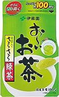 伊藤園 おーいお茶 抹茶入りさらさら緑茶 80g×6袋入×2ケース(100杯分×12)