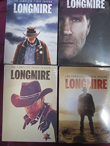 Longmire: Complete Series 1-4 Bundle Collection