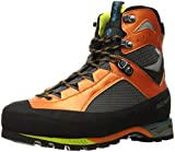 SCARPA Men's CHARMOZ Mountaineering Boot, Shark/Orange, 9