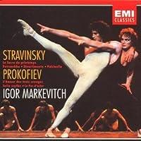 STRAVINSKY: Sacre Du Printemps; Petroushka; Divertimento; Pulcinella - PROKOFIEV: Love for 3 Oranges; Suite Scythe; La Pas d'acier (REC. 1954-59) (2005-03-01)