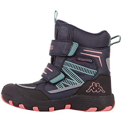Kappa Unisex Kinder Blackpool TEX Sneaker, 6722 Navy/pink,35 EU